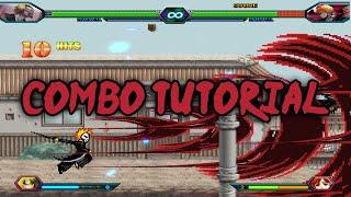 Bleach Vs Naruto 3.2 -  Ichigo Kurosaki (Hollow Mask) Combo Tutorial