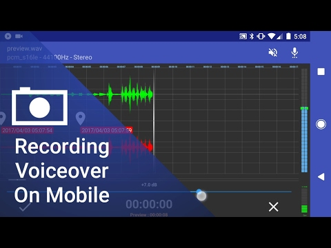 Recording Voiceover On Your Android Phone