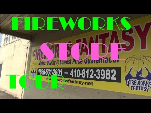 Fireworks Fantasy Store Tour - Peach Bottom, Pa
