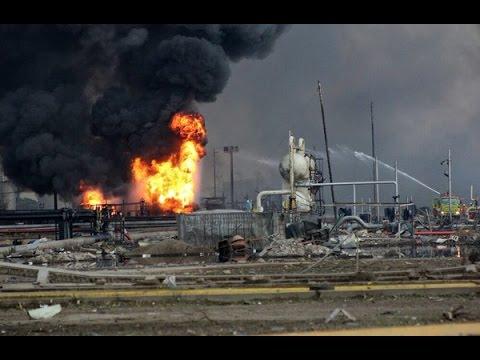 #Mexico #explosion: Blast at #Pemex #Veracruz oil plant