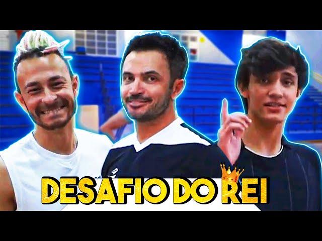 Desafio de Precisão no Futsal: Falcão x Fred x Enzo!