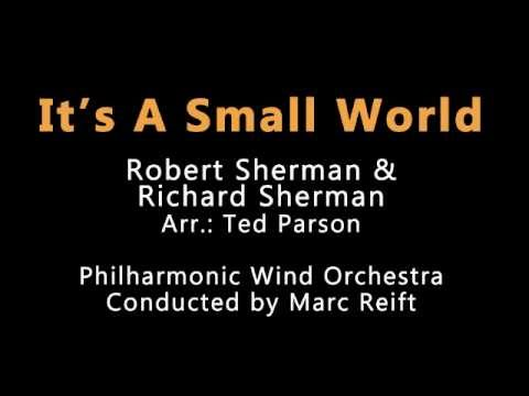 Marc Reift - It's A Small World (R. Sherman / R. Sherman, Arr.: Ted Parson)