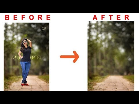 How to remove  people & unwanted object in Photoshop