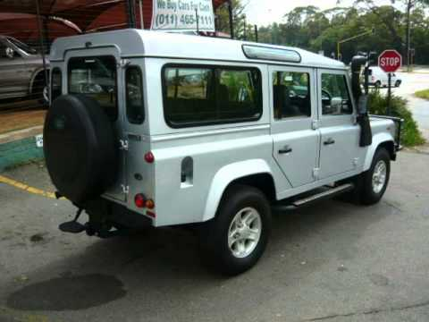2006 land rover defender 110 2 5td5 auto for sale on auto trader south africa youtube. Black Bedroom Furniture Sets. Home Design Ideas