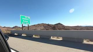 Driving from LA to IKRC Grand Canyon