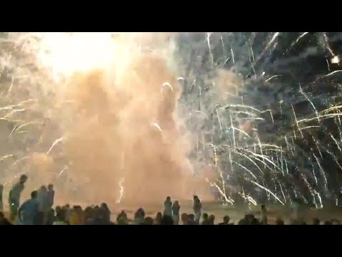 Barge carrying New Year's Eve fireworks explodes during display in eastern Australia