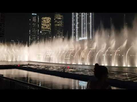 Pokaz Fontanny-Dubaj 2019 / Fountain Show- Dubai 2019 /