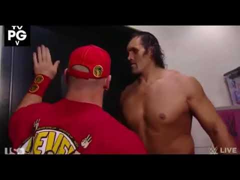 Download The Great Khali Vs Brock Lesner Face To Face