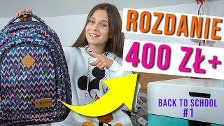 ROZDANIE BACK TO SCHOOL - wydałam ponad 400 zł?!