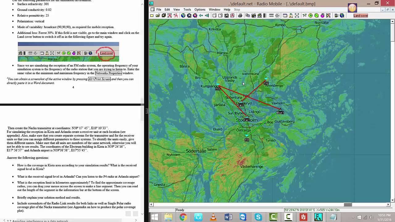 Planning Terrestrial Radio Networks 101