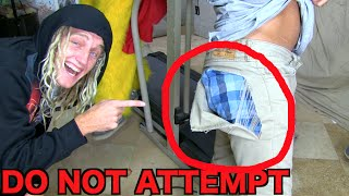 INSANE PANTS DOWN TREADMILL CHALLENGE!! Do Not Attempt! | JOOGSQUAD PPJT