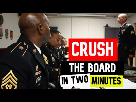 CRUSH EVERY ARMY BOARD (PROMOTION, COMPETITION, SAMC)