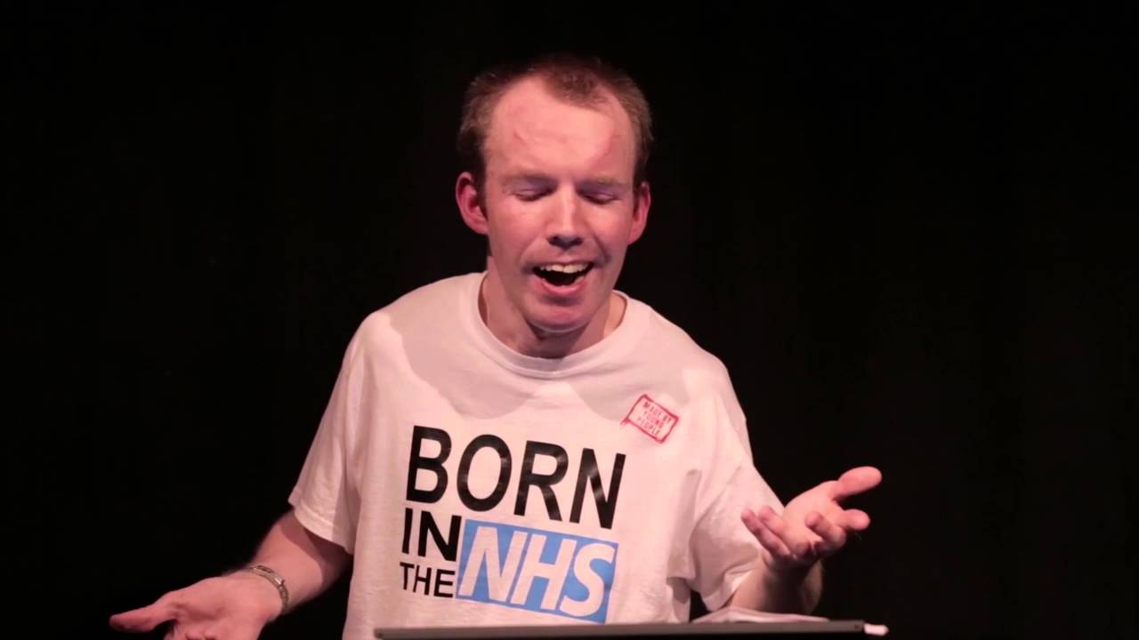 Lost Voice Guy talks about a rubbish doctor on his ...