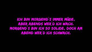 Laing - Morgens Immer Müde Lyrics