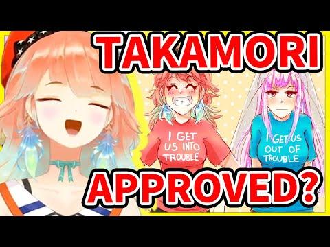 Kiara admits that even Management SHIPS Takamori【Takanashi Kiara / HololiveEN】