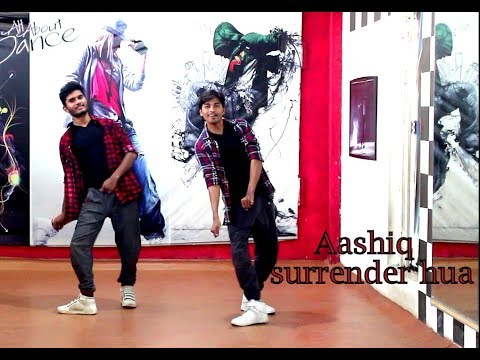 Freestyle Bollywood Dance on Aashiq Surrender Hua | Choreo by Manas | SPARTANZzz Dance Academy
