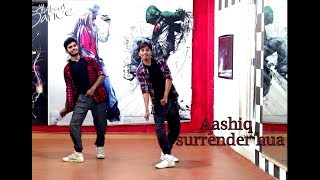 Freestyle Bollywood Dance on Aashiq Surrender Hua   Choreo by Manas   SPARTANZzz Dance Academy