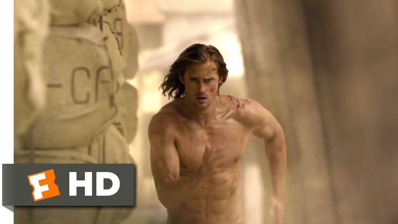 Download The Legend of Tarzan (2016) - Wildebeest Stampede Scene (8/9) | Movieclips