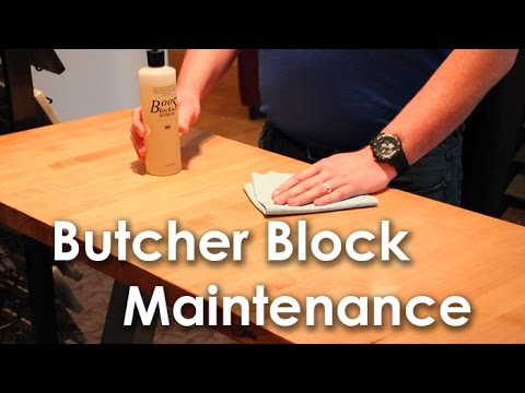 How To Clean And Maintain Your Butcher Block Countertop Kitchen Fashions You