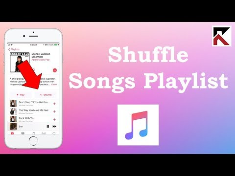 How To Shuffle Songs In Playlist Apple Music