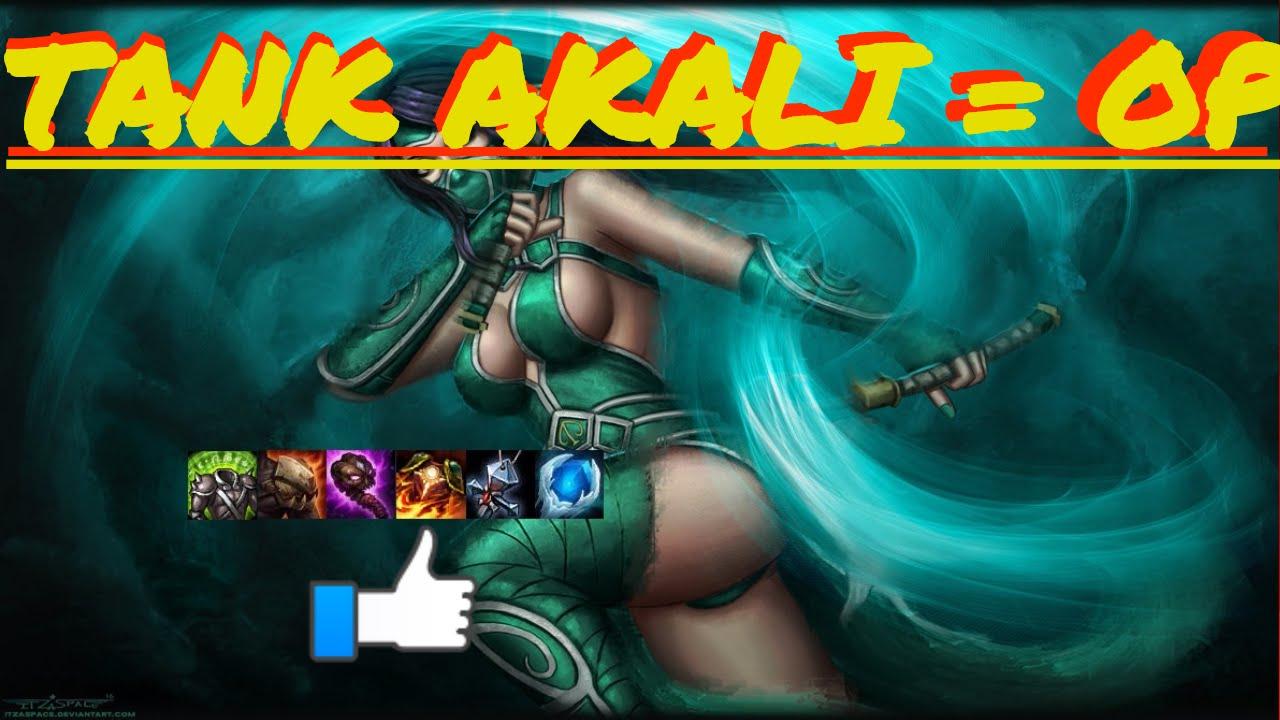 S7 TANK Akali rework: MASSIVE BURST
