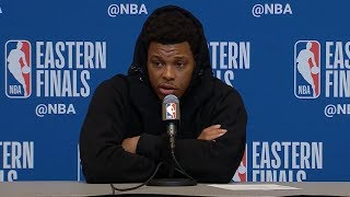 Kyle Lowry Postgame Interview - Game 1 | Raptors vs Bucks | 2019 NBA Playoffs