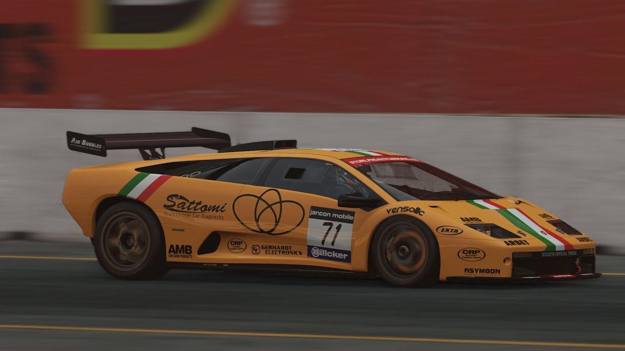 Project Cars 2 Lamborghini Diablo Gtr Racing At Sonoma Onboard Youtube