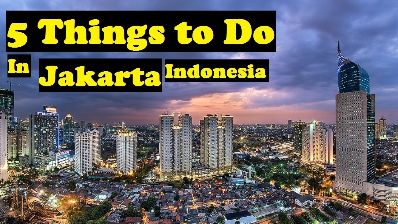Places To Visit In Jakarta Jakarta Attractions Youtube