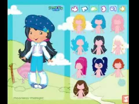 New  Barbie girls Strawberry Shortcake Dressup -New Game Girls free download