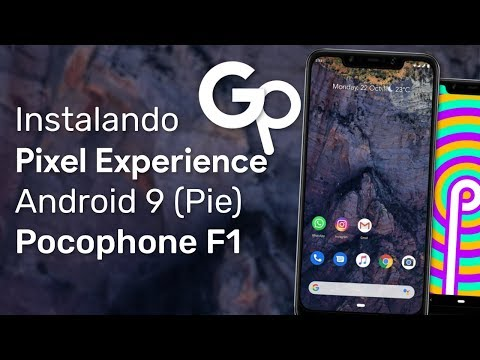 Download Poco F1 Install Pixel Experience Rom Android 9 0
