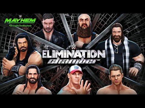 WWE Mayhem - Elimination Chamber 2018 Event | Match Gameplay