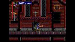 Castlevania Rondo Of Blood Gameplay (Part 2a) - Stage 1a - w/ Richter Belmont