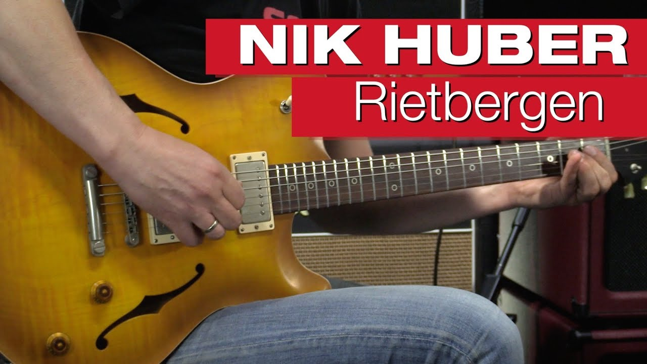 Nik Huber Rietbergen Standard E-Gitarre- & Bass-Review von session ...