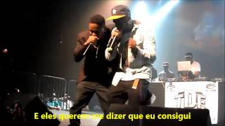 Kendrick Lamar Feat SchoolBoy Q - The Spiteful Chant (Live) (Legendado)