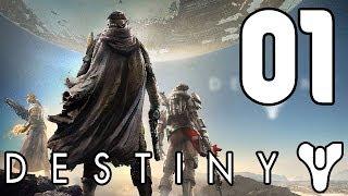 Let's Play Destiny PS4 Gameplay German Deutsch Part 1 - Charakter Erstellung & erste Schritte
