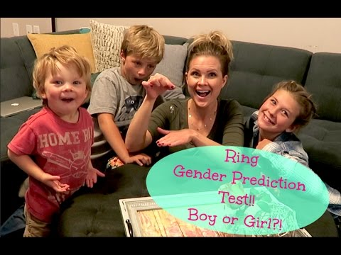 Boy or Girl?! Can A Ring Predict My Baby's Gender?!