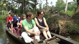 Kochi back water Canal tour Kerala