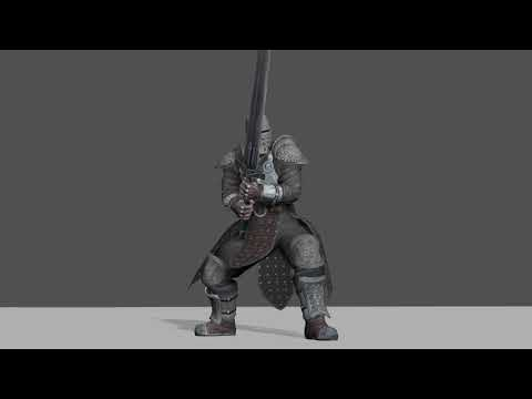 game animation demo reel