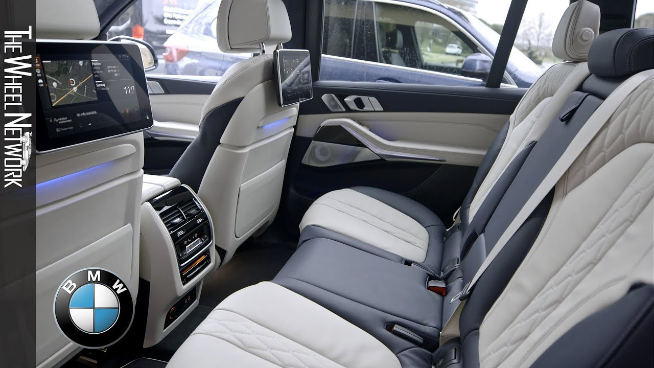 2020 Bmw X7 Xdrive40i Interior