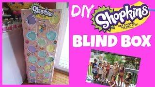 SHOPKINS BLIND BOX DIY | MommyTipsByCole