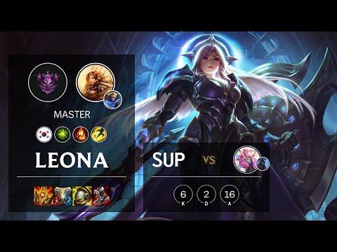 Leona Support vs Seraphine - KR Master Patch 10.23