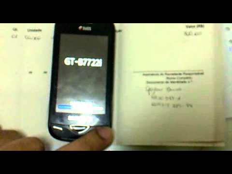 Samsung B7722i enviado pela FASTPHONE com defeito