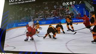 Россия-Германия 3й гол Хоккей Пхёнчхан