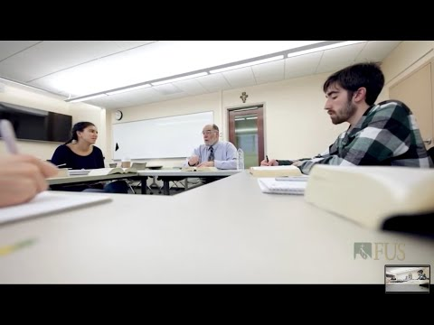 The Advantage of Seminar Style Learning at Franciscan