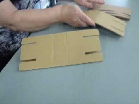 段ボール製正座椅子組立方法 ...