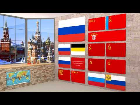Himno y banderas de Rusia | Russia flags and anthem