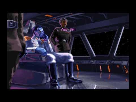 Star Wars TIE Fighter(DOS) Opening 60 fps version |