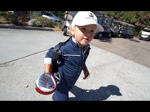 3 Year Old Tydus GOLF EXPERT!!
