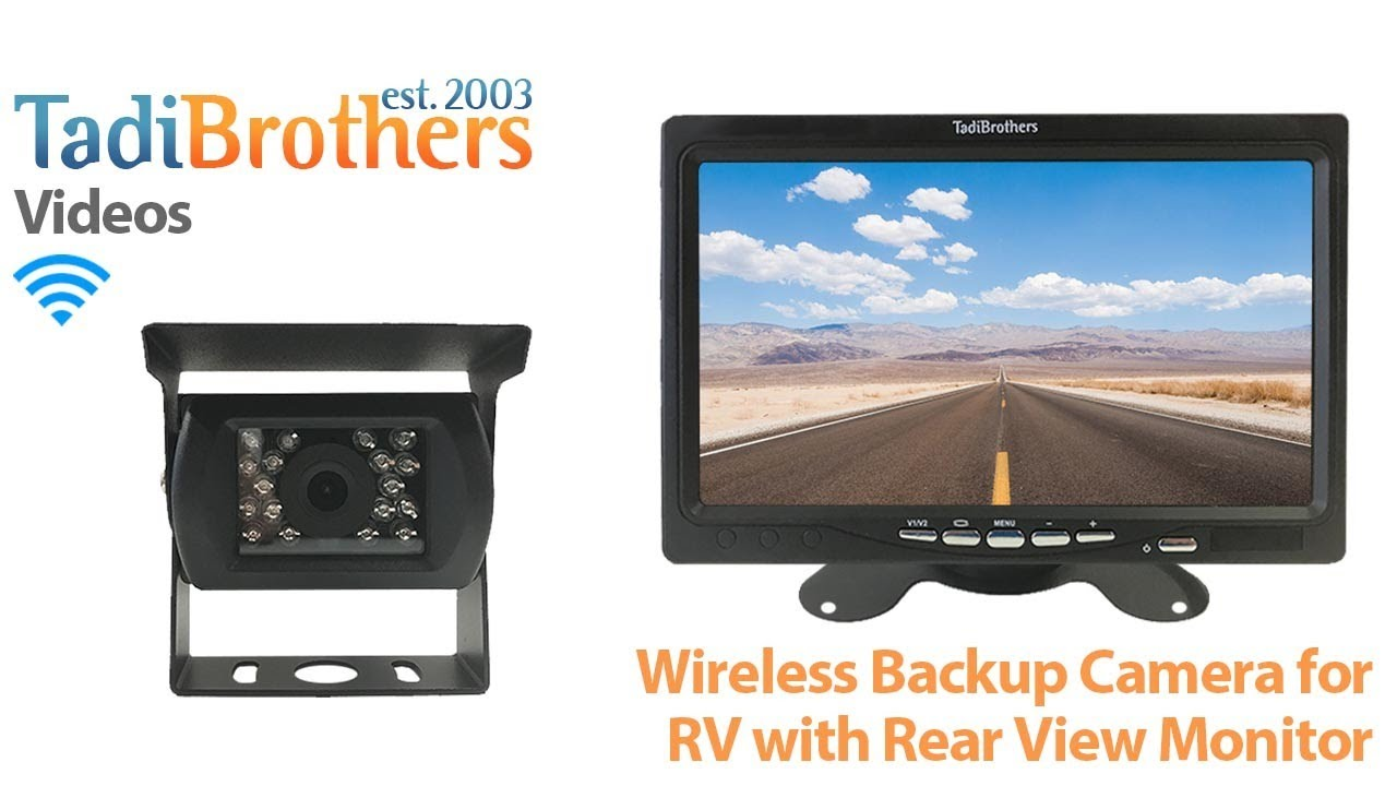 maxresdefault wireless backup camera for rv and 5 9 inch monitors from www  at soozxer.org
