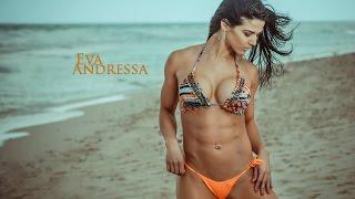 Eva Andressa/Top female fitness model/Hot Posing аnd Workout.